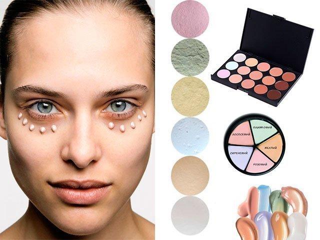 Как сделать красивое лицо косметика