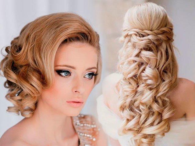 Причёски на средние волосы с чёлкой фото на торжество по шагово