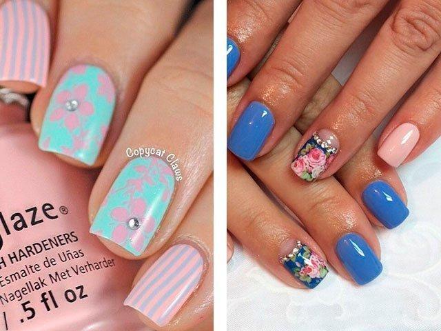Дизайн ногтей цветы фото новинки