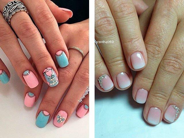 Ногти острые дизайн короткие ногти