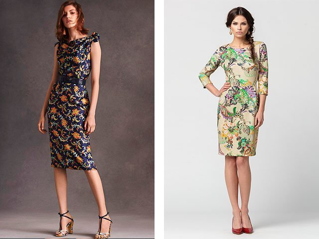 Интересные идеи женского платья