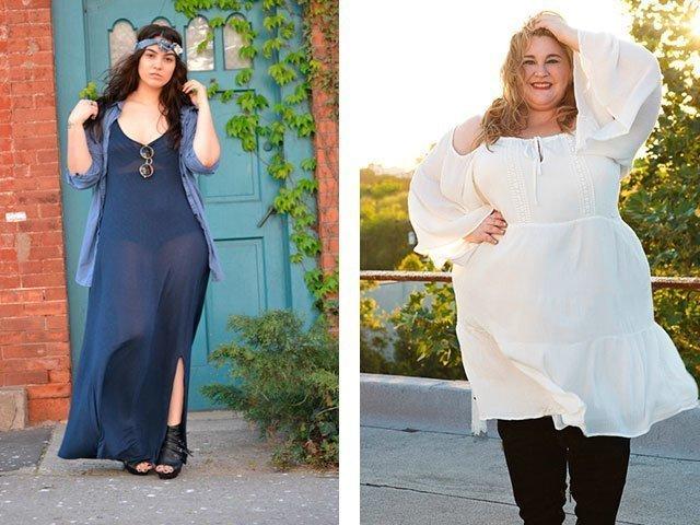 Платья для полных женщин фото новинки