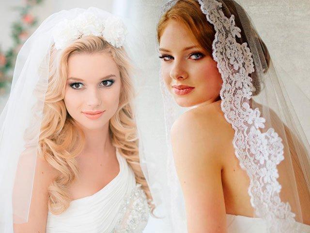 Фата на свадьбу фото
