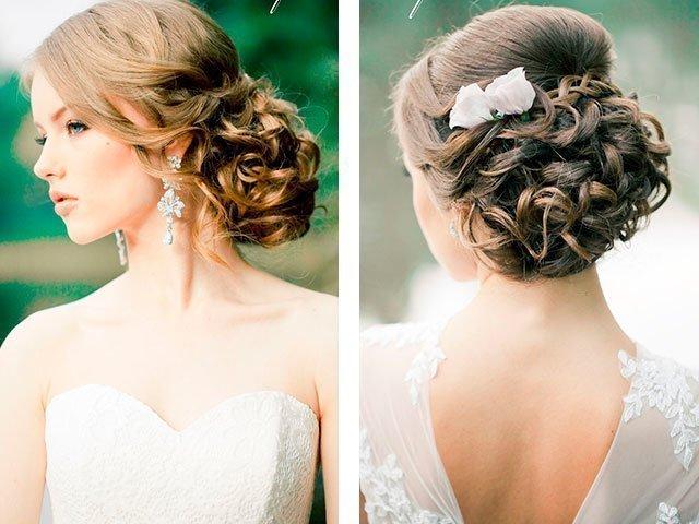 Прическа свадебная в греческом стиле на средние волосы фото