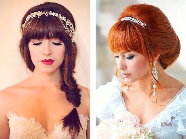 прическа свадебная на длинные волосы фото