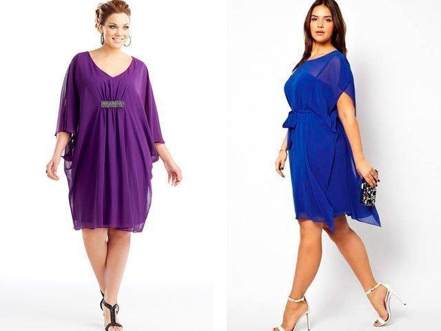 Сшить платья летнее для полных женщин