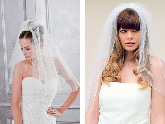 Свадебные прически с фатой фото новинки 2018