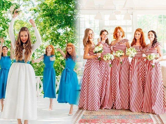 Платья для подружек невест воронеж