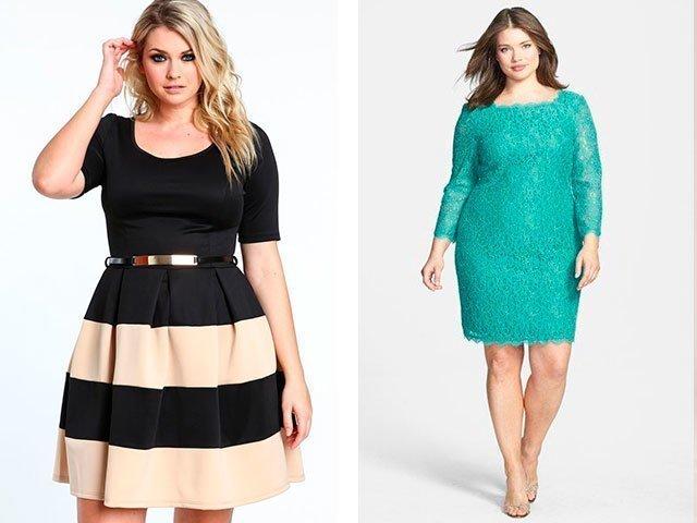 Классические платья фото для полных