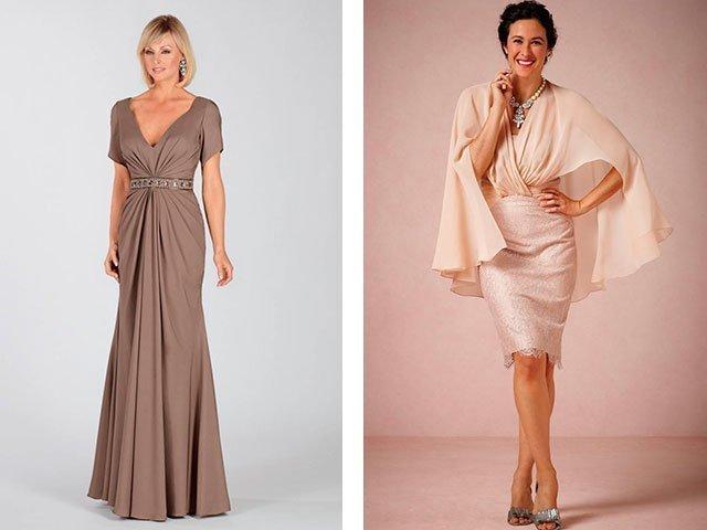 Модели вечернего платья на свадьбу