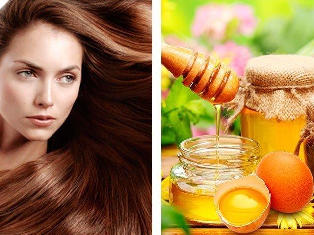 Маска для с медом и яйцом для роста волос