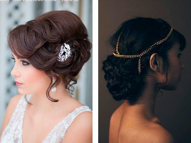 Прически на длинные редкие волосы на свадьбу