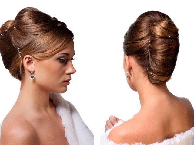 Причёски ракушка на средние волосы