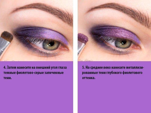 Как накрасить красиво зеленые глаза видео 98