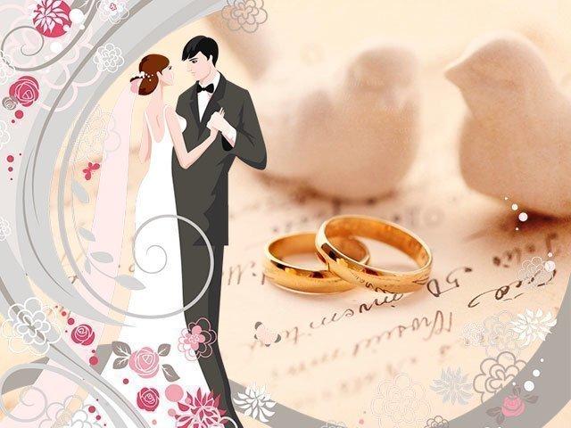 С днем свадьбы поздравление современное