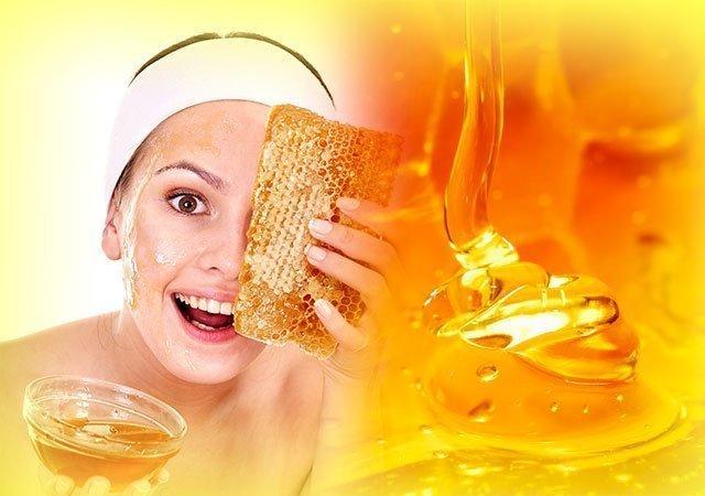 Маска для лица с мёдом в домашних условиях