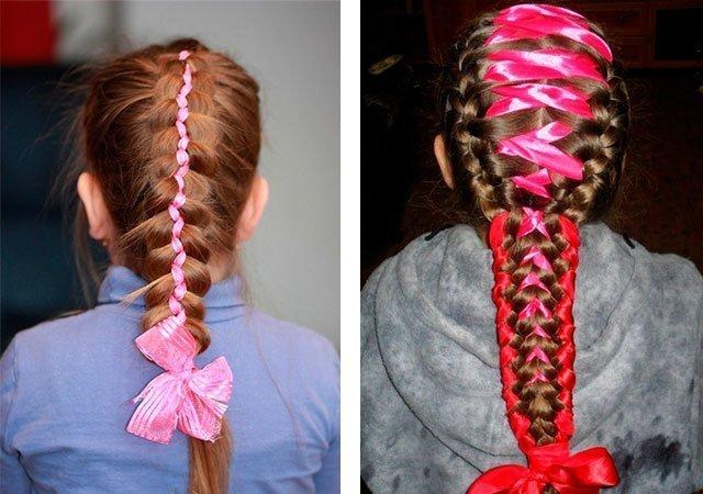 Плетение косичек для девочек фото видео уроки для начинающих