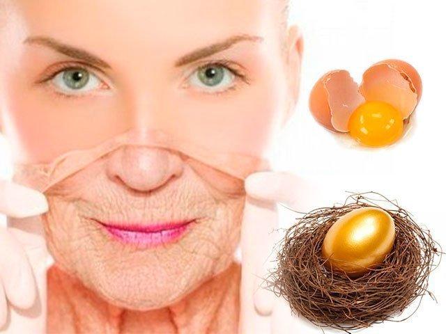Из белка маска для лица - маска для лица с белком яйца подтягивающая