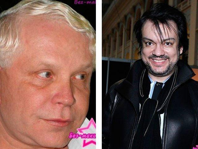 Звезды без макияжа фото до и после