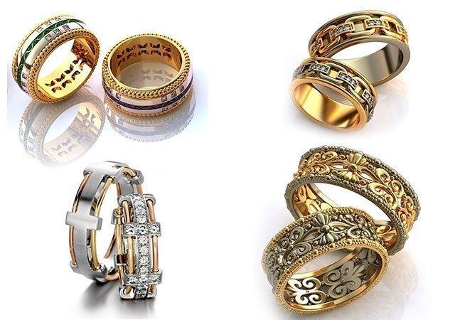 Обручальные кольца калуга