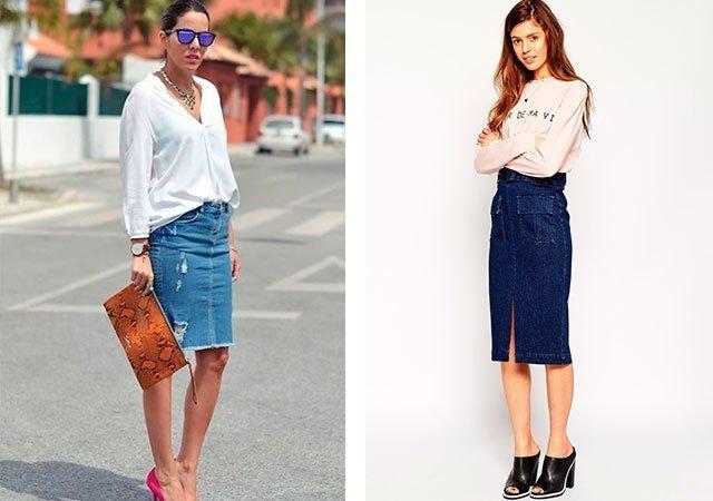К чему снятся джинсовая юбка