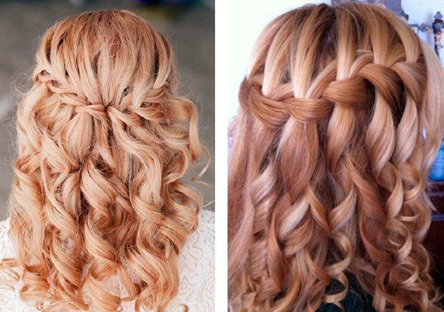 Плетение кос своими руками на средние волосы своими руками