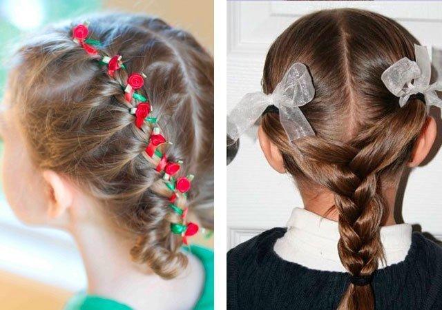 Красивые косы для девочек пошаговое плетение