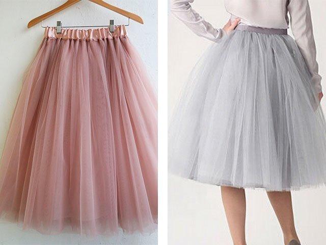 Как сделать юбку из фатина для взрослого