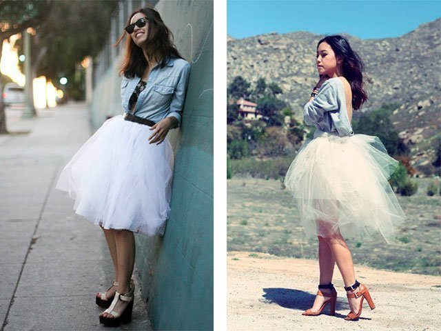 Как сшить юбку из фатина своими руками пошагово фото