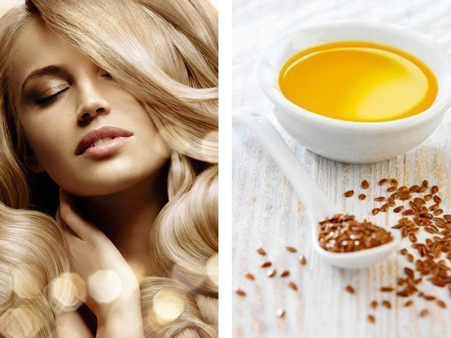 Для волос льняное масло - рецепы масок с льняным маслом