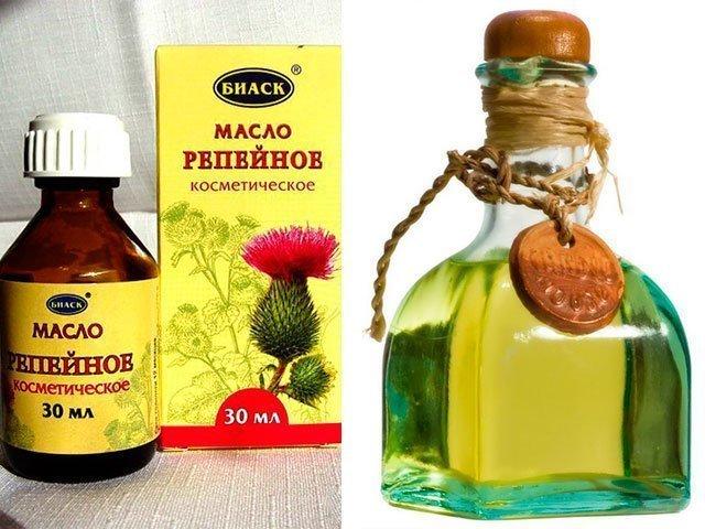 сыворотка для роста волос с репейным маслом