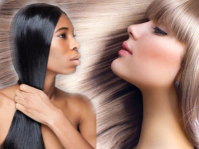 Выпрямляем волосы в домашних условиях без вреда для волос
