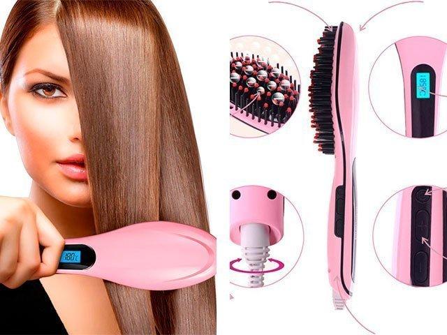 Как выпрямить волосы в домашних условиях плойкой