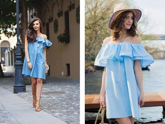 Как сшить модное платье самостоятельно