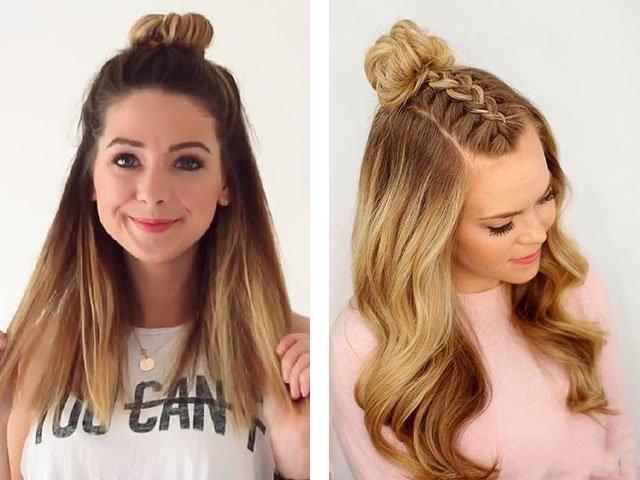 Как сделать косу на средние волосы фото 385