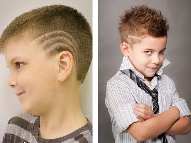 Стильные стрижки для мальчиков подростков фото