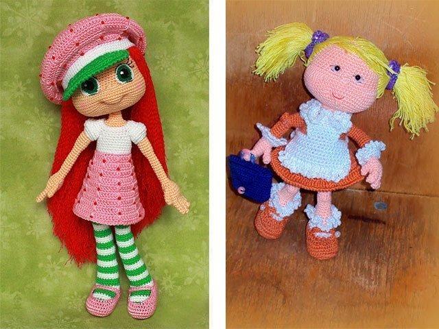Видеоурок вязания крючком кукол 11