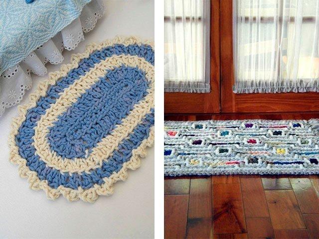 Вязания ковриком своими руками
