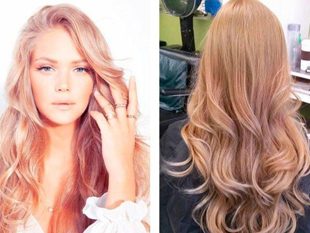 Модный в этом году цвет волос