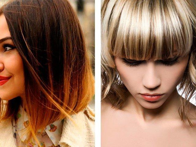 Модный окрас волос 2017 год