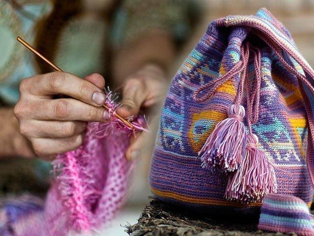 схемы вязания сумок крючком схемы
