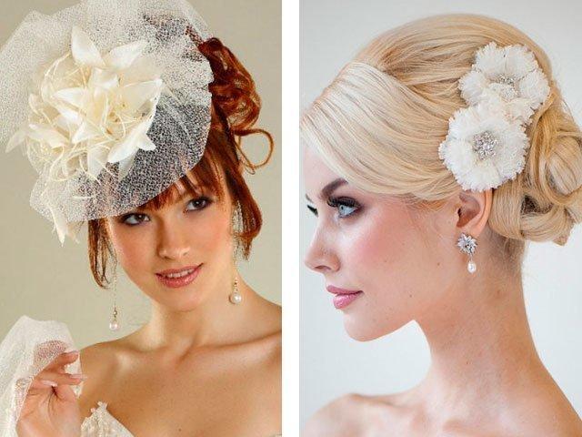 Аксессуары на волосы свадебные своими руками