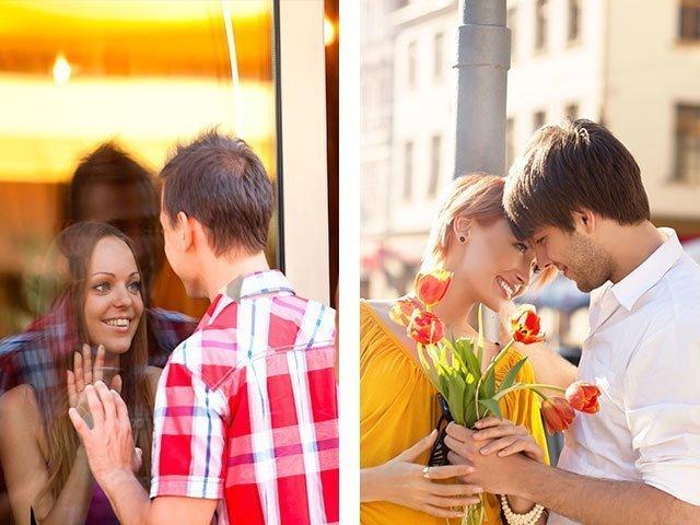 поведение знакомство с парнем