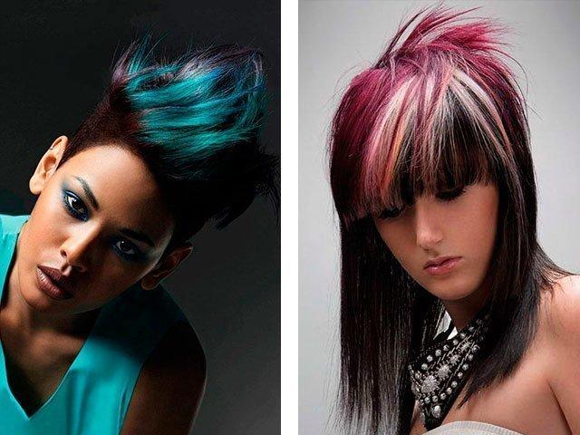 Колорирование волосы фото в домашних условиях 483