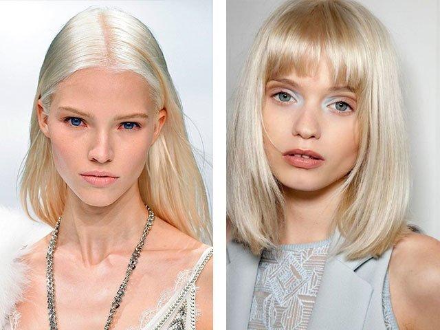 Бледно-розовая кожа цвет волос