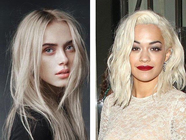 Тёмный пепельный блонд цвет волос