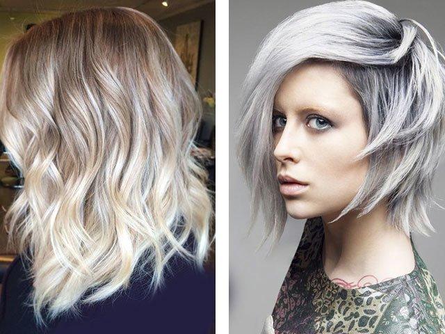 Цвет волос холодный блонд