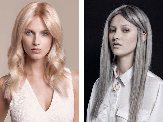 Все оттенки блонда волос фото девушек