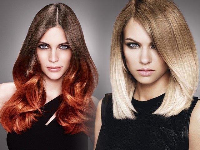 Как покрасить себе волосы самой омбре
