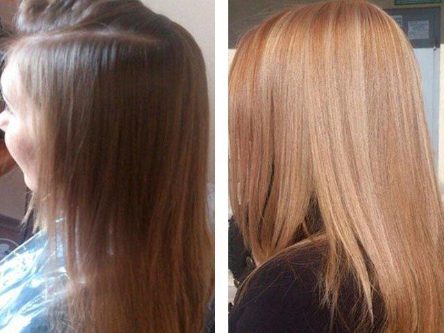 Маска осветляющая для волос с медом и корицей